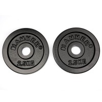 Finnlo FINNLO Gewichtsscheiben 2x 2,5 kg, schwarz schwarz