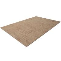 Напольный коврик FINNLO, расцветка «под дерево» (коврик-пазл)